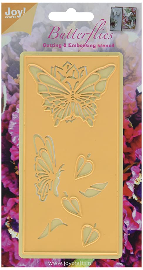 Joy! Crafts Craft Cutting and Embossing Die, Butterflies