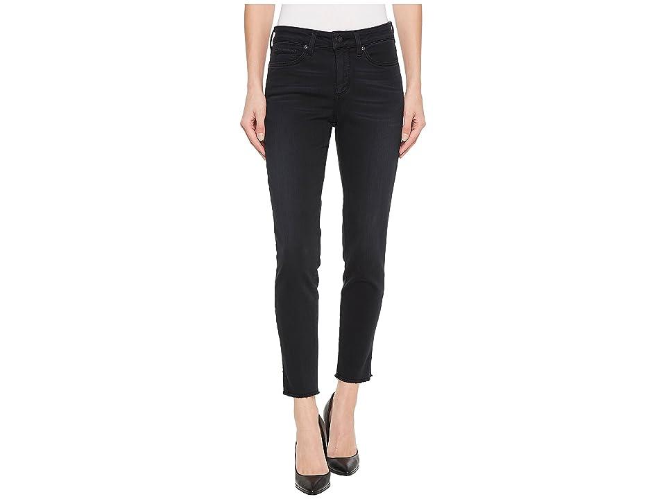 NYDJ Ami Skinny Ankle w/ Slit Fray Hem in Deepwell (Deepwell) Women's Jeans