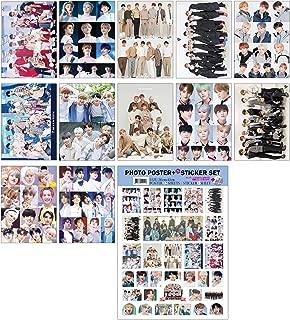 IDOLPARK K-POP Group 2019 New 12 Posters + 1 Sticker Set (All A3 Size) (Seventeen)