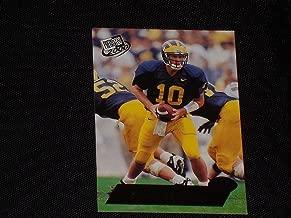 Tom Brady 2000 Press Pass Rookie Card #37 Michigan Patriots Nice! - Unsigned Football Cards