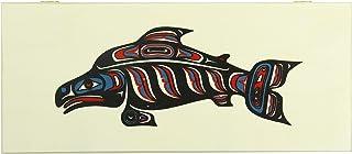 Alaska Smokehouse Smoked Sockeye Salmon Fillet In Wood Gift Box, 16 Ounce Box