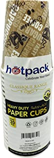 HOTPACK - 20 PIECES HEAVY DUTY PAPER CUP 12 OUNCE