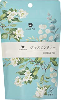 Mug&Pot ジャスミンティー(新商品 台湾烏龍茶 リーフティーバッグ 2g×6P)
