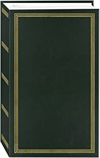 3-Ring Photo Album 504 Pockets Hold 4x6 Photos, Hunter Green