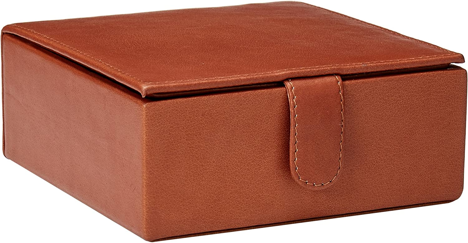 Piel Leather Small Ranking integrated 1st place Gift Indianapolis Mall Box One Size Saddle