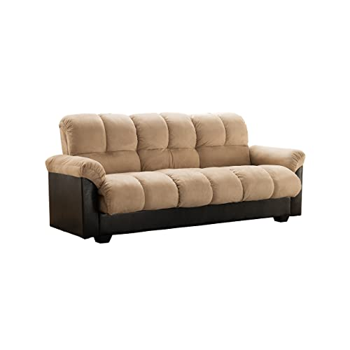 Futon Sofa Bed with Storage: Amazon.com
