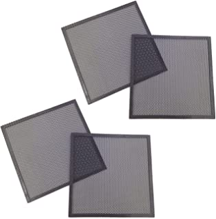 DGQ Ultra Fine Fan Filter Magnetic Frame Computer Fan Grills,Pack of 4 (120mm)