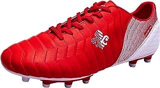Saekeke Chaussures de Football pour Filles FG/AG Chaussures de Football pour Enfants Garçons TF Chaussures d'Entraînement ...