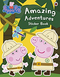 Peppa Pig: Amazing Adventures Sticker Ladybird Books Ltd (2012) Paperback