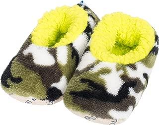 Snoozies Baby Camo Plush Sherpa Cozy Slipper Socks