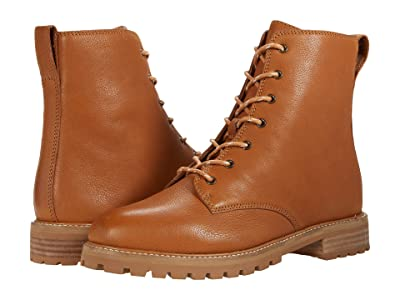 Madewell Clair Lace-Up Boot (English Saddle) Women