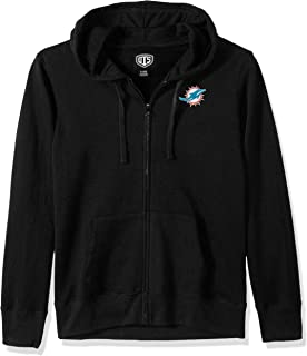 OTS NFL Womens Fleece Full-Zip Hoodie