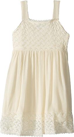 Crinkle Lace Sun Dress (Little Kids)
