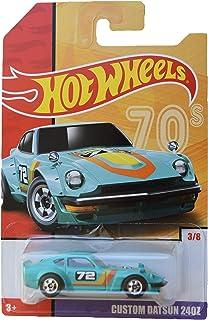 Hot Wheels 1:64 Scale die cast Exclusive Heritage [Green] Custom Datsun 240z 3/8