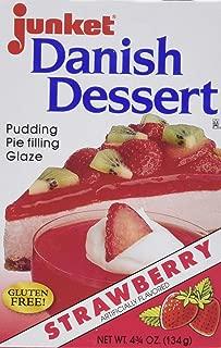 Junket Danish Dessert - Strawberry (4.75 ounce)