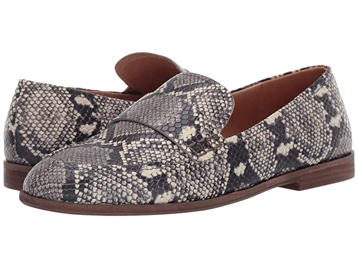 Madewell  Annie Loafer (Stone Multi Snake) Womens Shoes