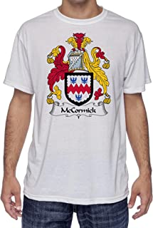 McCormick Coat of Arms-Family Crest, Moister Wicking Sports T-Shirt