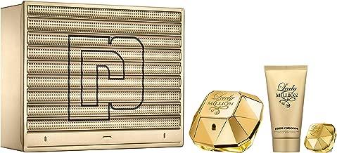Paco Rabanne Lady Million Eau de Parfum 50ml, Body Lotion, 75ml and Miniature, 5ml