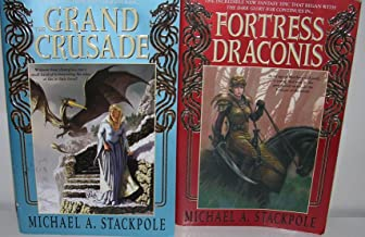 Author Michael A. Stackpole Two Book Bundle Collection Chronicles of (The Dragon Crown Wars) Includes: The Grand Crusade a...