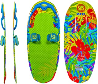 ZUP DoMore All-in-One Watersports Performance Board - Kneeboard, Wakeboard, Wakesurf Board and Water Skis!