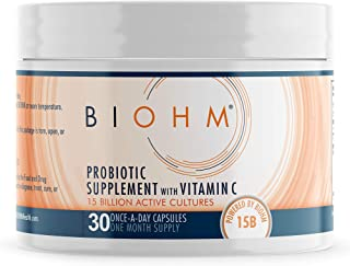 BIOHM Vitamin C Immune Support Probiotic Supplement; Immune System Booster Probiotics with VIT C; Immunity Booster Vitamin...