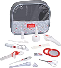 American Red Cross Deluxe Health and Grooming Kit| Infant and Baby Grooming | Infant and Baby Health | Thermometer, Medicine Dispenser, Comb, Brush, Nail Clippers and More with Convenient Tote
