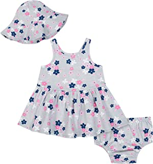 Baby Girls' 3-Piece Dress Set