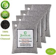 Zanskar Nature Fresh Air Purifying Bag,Bamboo Charcoal Air Purifier Bags,Charcoal Bag for Car Closets,Bathroom and Pet Areas,Car Air Freshener