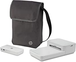 $199 » HP Sprocket Studio Go Bundle – Photo Printer with Power Bank Portable Charger & Bag: Personalize & Print 4x6 Pictures Anywhere You Go (3XT68A), 3XT68A#1H6
