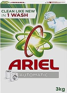 Ariel Automatic Powder Laundry Detergent, Original Scent, 3 KG
