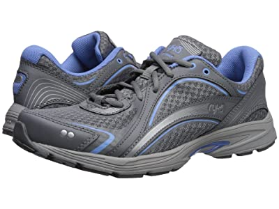 Ryka Sky Walk (Slate Grey/Chrome Silver/Robin Blue) Women