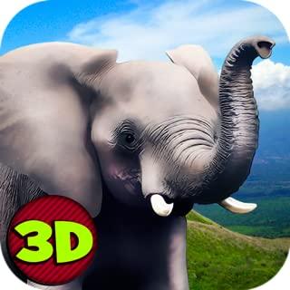 Wild African Elephant Survival Simulator 3D
