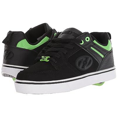 Heelys Motion 2.0 (Little Kid/Big Kid/Adult) (Black/Bright Green) Boys Shoes
