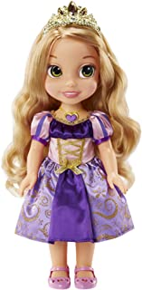 """Disney Princess Rapunzel Doll Disney's Tangled Princess Sing & Shimmer Toddler Doll, Rapunzel Sings """"I See The Light"""" When You Press Her Jeweled Necklace [Amazon Exclusive]"""