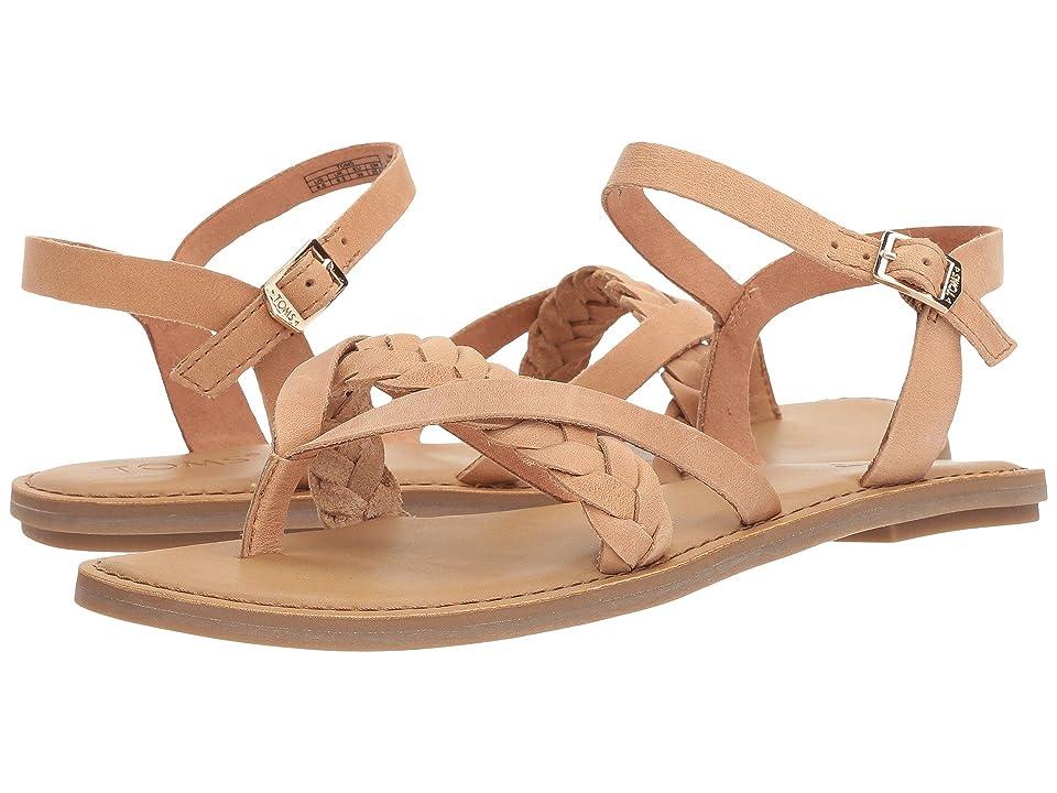 TOMS Lexie Sandal (Honey Leather) Women