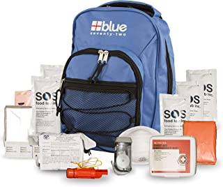 Sponsored Ad - Blue Coolers Blue Seventy-Two   72 Hour Emergency Backpack Survival Kit for 1 Person   Survival Kit for Roa...