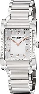 Baume Mercier Women's 10023 Hampton Ladies Stainless Steel Diamond Watch