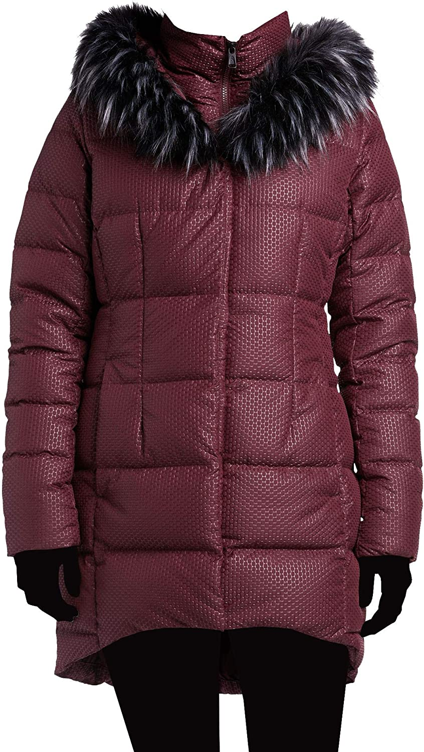 The North Face Over Finally popular brand item handling ☆ Women's Fur HD Jacket Puffer Parkina Down Hooded