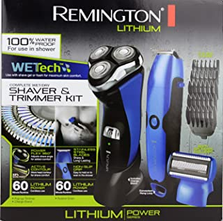 Remington PR1285APGHOL WetTech Power Series R8 Rotary Shaver & Personal Groomer Set