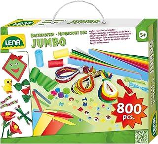 Lena 42629Jumbo Manualidades maletín con Variado