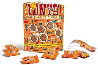 Tony's Chocolonely Halloween Milk Chocolate Sea Salt Caramel Bag, 8.46 OZ, 1 Bag