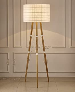Whiteline Modern Lighting Amber Floor Lamp White