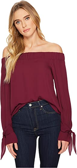 HEATHER - Lita Off the Shoulder Blouse