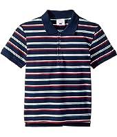 Navy Stripe Polo (Infant/Toddler/Little Kids/Big Kids)