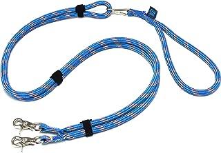 ドッグ・ギア ザイルリードタイプW ロープ径10mm 全長130cm ブルー 「大切な愛犬を迷子犬にしないためのリードです」
