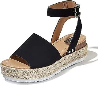 Best platform sandals buckle Reviews
