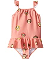 mini rodini - Monkey Skirt Swimsuit (Infant/Toddler/Little Kids/Big Kids)