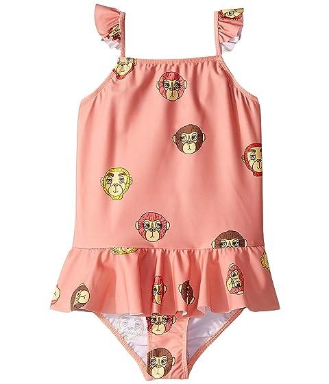 mini rodini Monkey Skirt Swimsuit (Infant/Toddler/Little Kids/Big Kids)