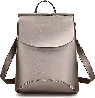 Damen Fashion Rucksack wandelbare Rucksäcke Geldbörse PU Leder Reisetasche