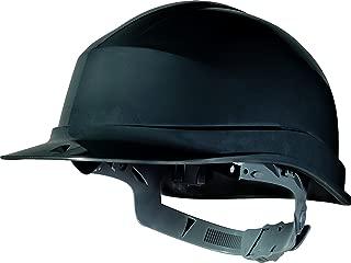 Delta Plus Zircon Black Hard Hat Safety Helmet Bump Cap Builders PPE